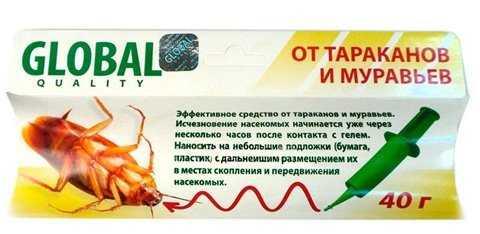 Эффективные средства от тараканов имеющиеся в продаже
