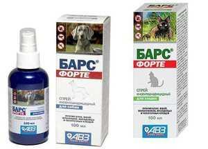 Спреи для собак от блох и клещей 10 самых эффективных средств