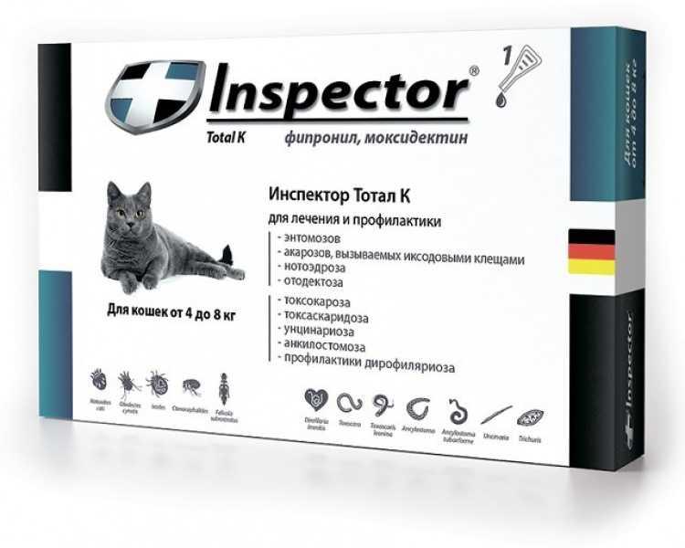 Капли Инспектор для собак
