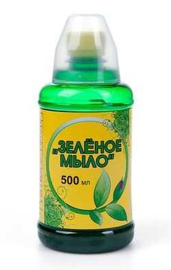 Как приготовить мыльный раствор для опрыскивания. Зеленое мыло от вредителей