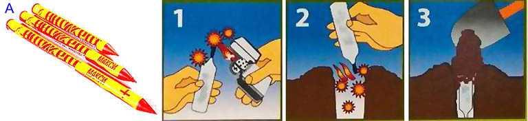 Газовые таблетки Дакфосал Антикрот-5