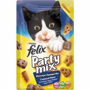 Состав корма для кошек Феликс