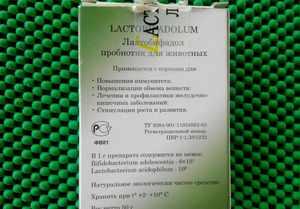 Лактобифадол для собак - как правильно использовать