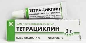 Тетрациклин при конъюнктивите