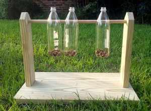 Игрушки из бутылок для собак