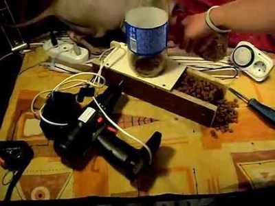 Самодельная автоматическая кормушка - как сделать?