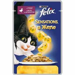 Ассортимент кошачьего корма Феликс
