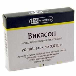Препарат Викасол