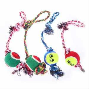 Веревки с мячами для собак