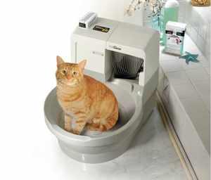 Описание моделей автоматических туалетов для кошки