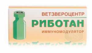 Инструкция по применению препарата Риботана для собак