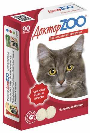 Витамины Доктор ZOO для кошек