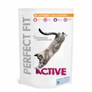 Корм для кошек Актив Перфект фит