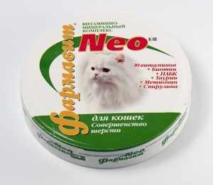 Добавки и витамины для кошек