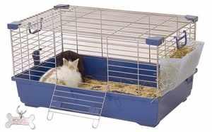 Клетки для декоративных кроликов - содержание зверьков дома