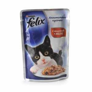 Производитель корма для кошек Феликс