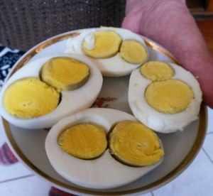 Яйца с двойными желтками
