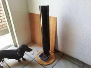 Удобная кормушка для собаки - автомат